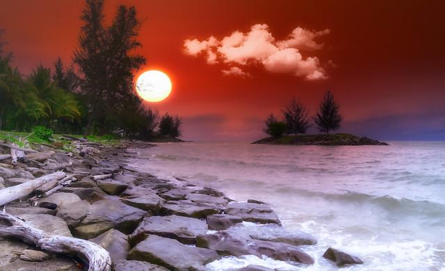 East Malaysia Sunset