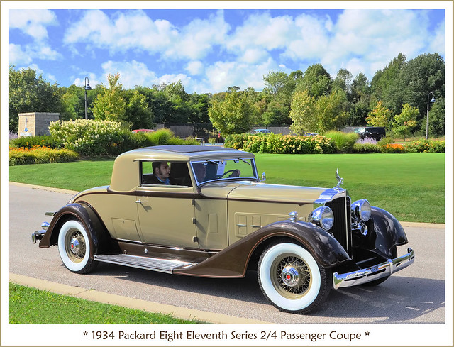 1934 Packard Eleventh Series 2/4 Passenger Coupe