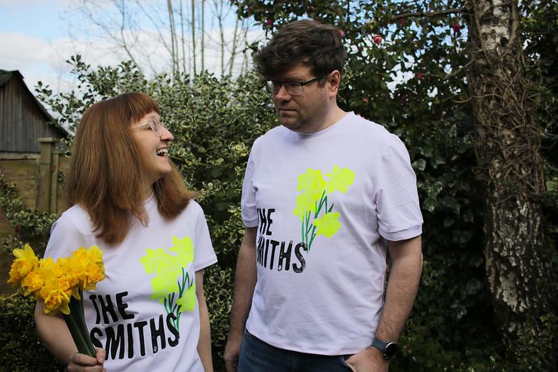 The Smiths Screenprinted Seamwork Tees