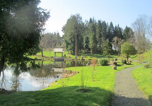 Lake and Pagoda, Cowden Garden