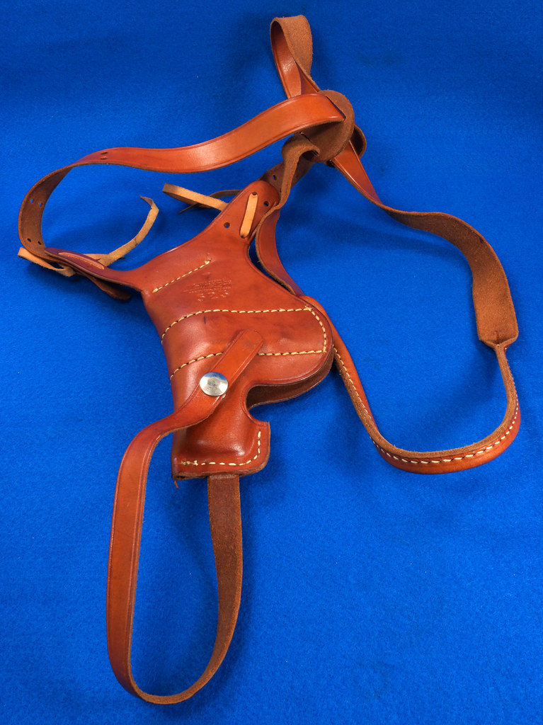 RD29399 George Lawrence Leather Holster 523 7 Colt D Agent Cobra Detective Special 2 in DSC02039