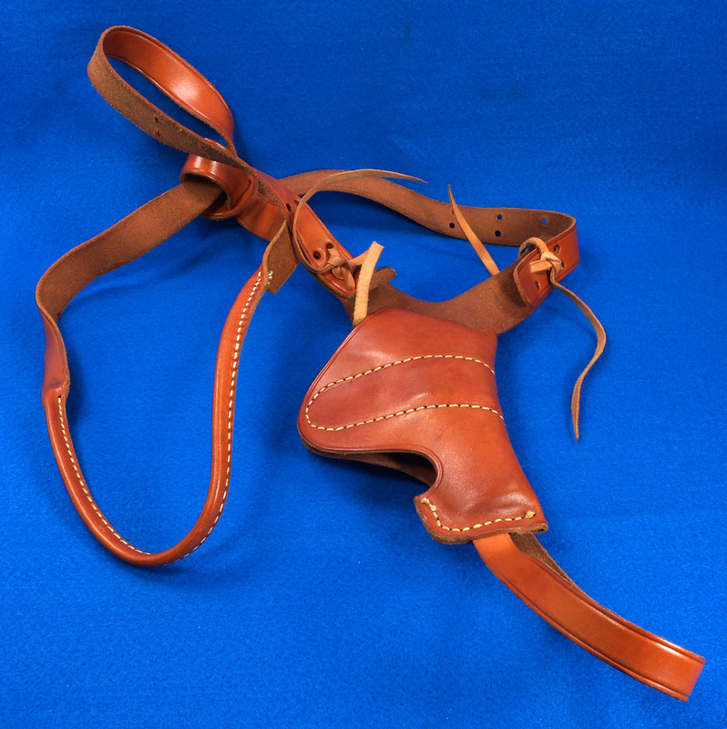 RD29399 George Lawrence Leather Holster 523 7 Colt D Agent Cobra Detective Special 2 in DSC02038