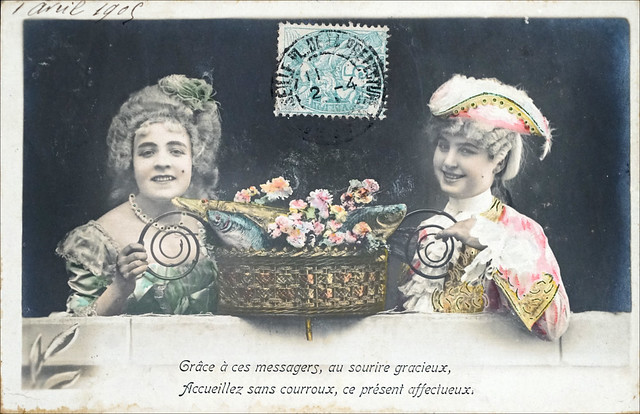 Poisson d'avril à la Belle Époque (1905)
