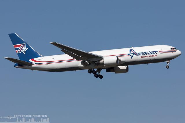 N396CM Amerijet International Boeing 767-323(ER)(BDSF) (FRA - EDDF - Frankfurt)