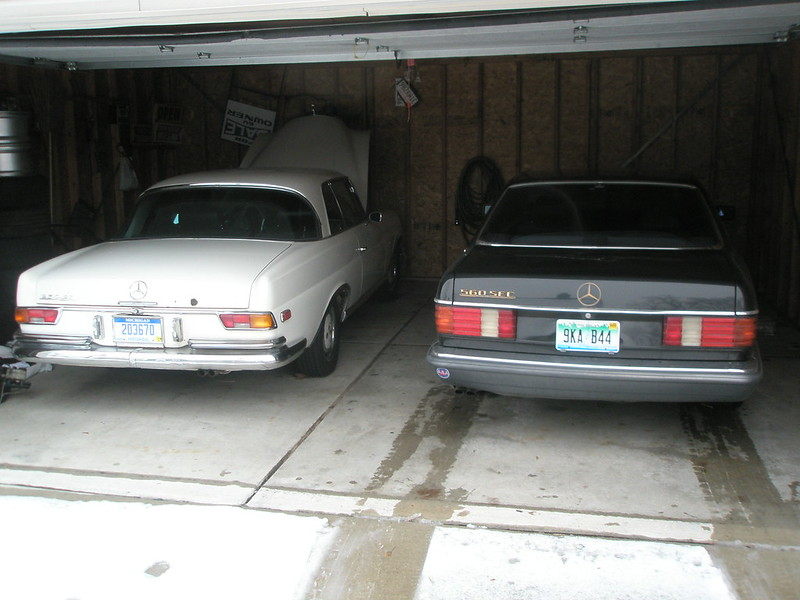 Two Mercedes Coupes