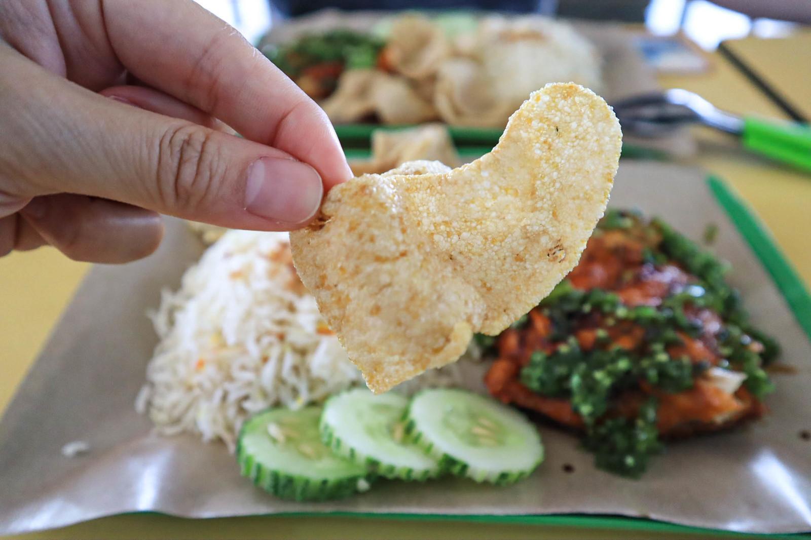 green-chilli keropok
