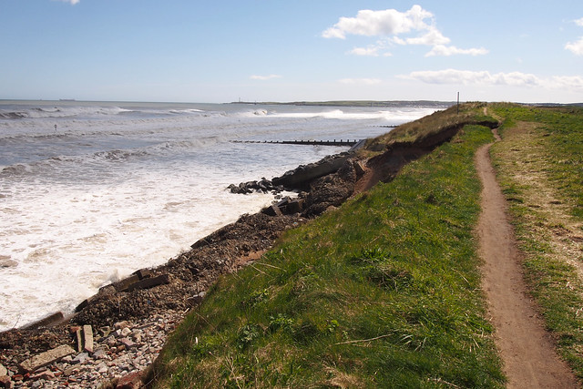 The coast north of Aberdeen