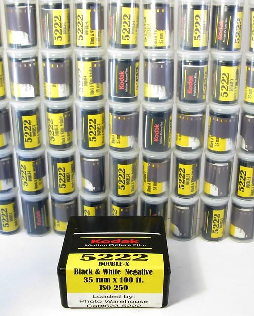 Ultrafine Motipix Eastman Kodak 5222 Motion Picture Black and White Film