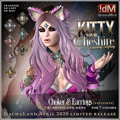 "!dM deviousMind ""Kitty Van Cheshire"" **GACHALAND EXCLUSIVE**"