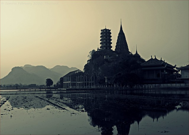 Wat Tham Sua in Thailand. You see one..., but this one was different.