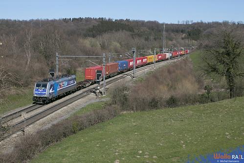 186 300 . RTB Cargo . E 40678 . Gemmenich . 24.03.20.