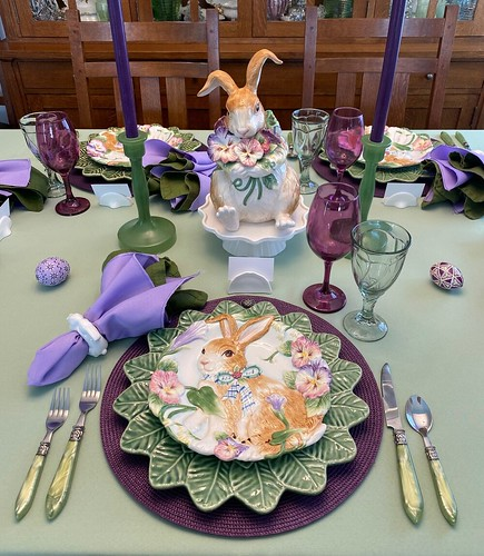 Time For An Easter Table