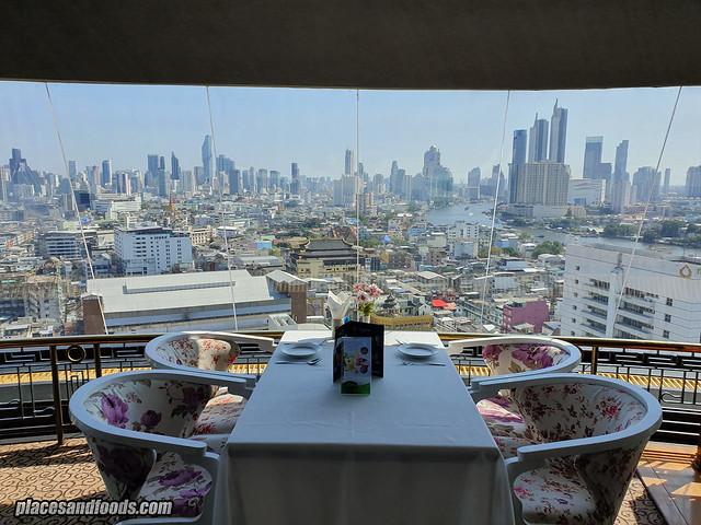 grand china rotating restaurant view