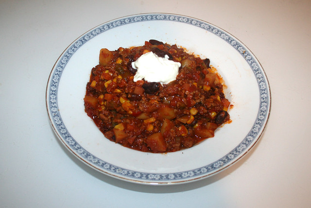 Chili con Carne - Leftovers I / Resteverbrauch I