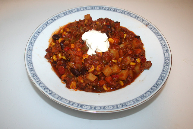 Chili con Carne - Leftovers II / Resteverbrauch II