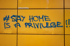 stay home is a privilege