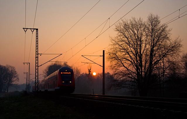 DB RE 3160  Berlin Ostkreuz - Brandenburg Hbf  - Potsdam Eiche
