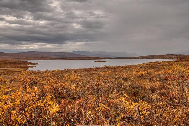 Rain in the Taiga Ranges - Chapman Lake