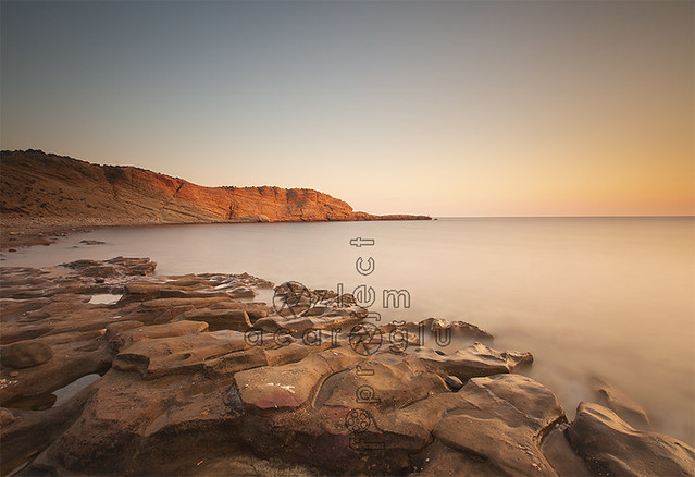 Turkey's most western point, Gizli Liman beach Gokceada, Imbros (with neutral density filter long exposure) Canakkale_Turkey
