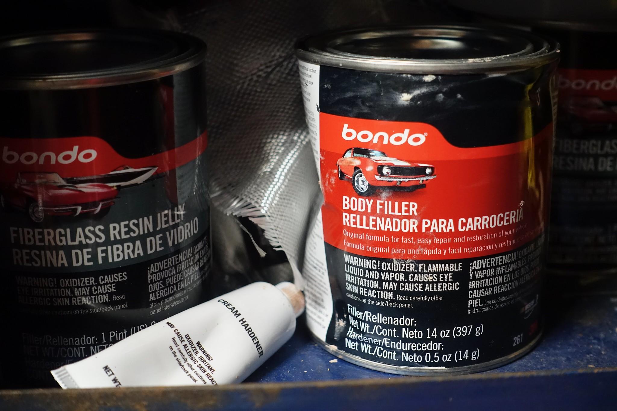 Bondo body repair products