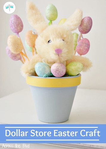 Easy Dollar Store Bunny Craft