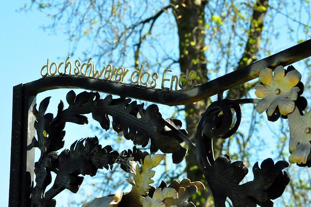 März 2020 ... Garten der ehemaligen Schlosswirtschaft ... Brigitte Stolle