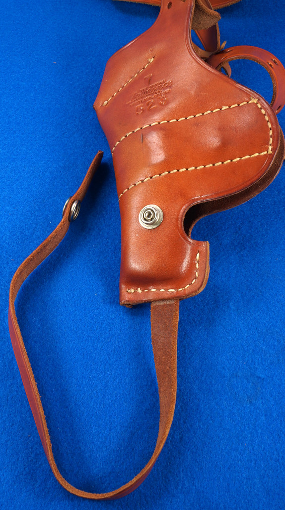 RD29399 George Lawrence Leather Holster 523 7 Colt D Agent Cobra Detective Special 2 in DSC02045