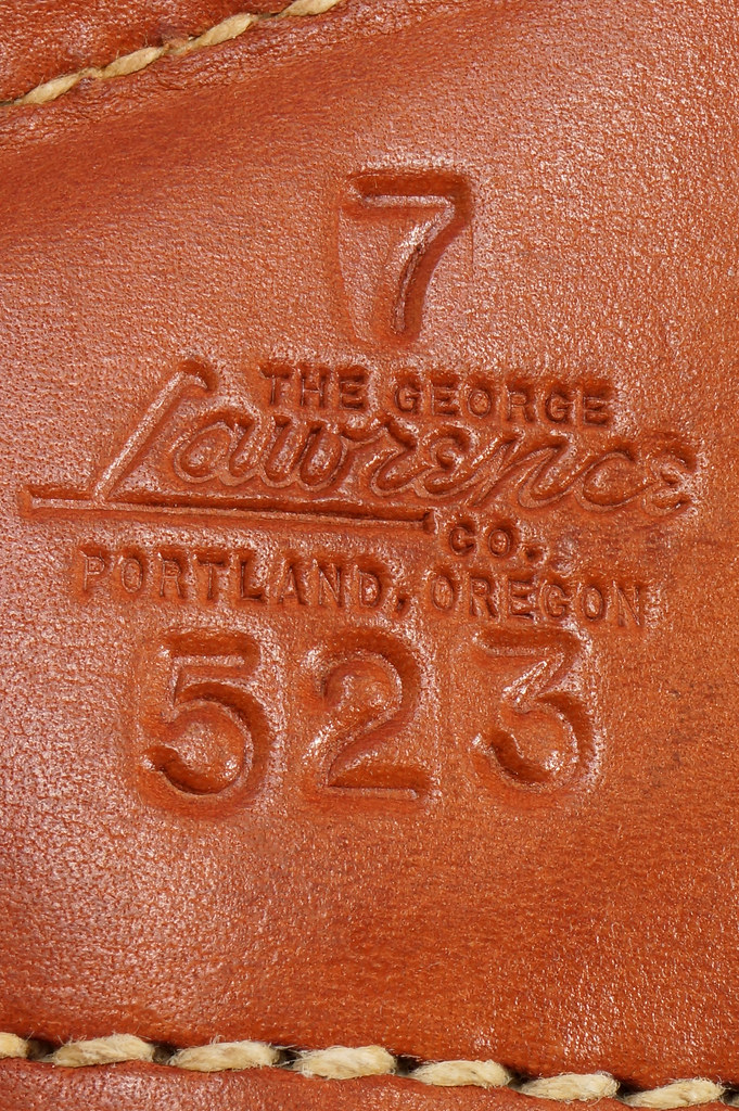 RD29399 George Lawrence Leather Holster 523 7 Colt D Agent Cobra Detective Special 2 in DSC02042