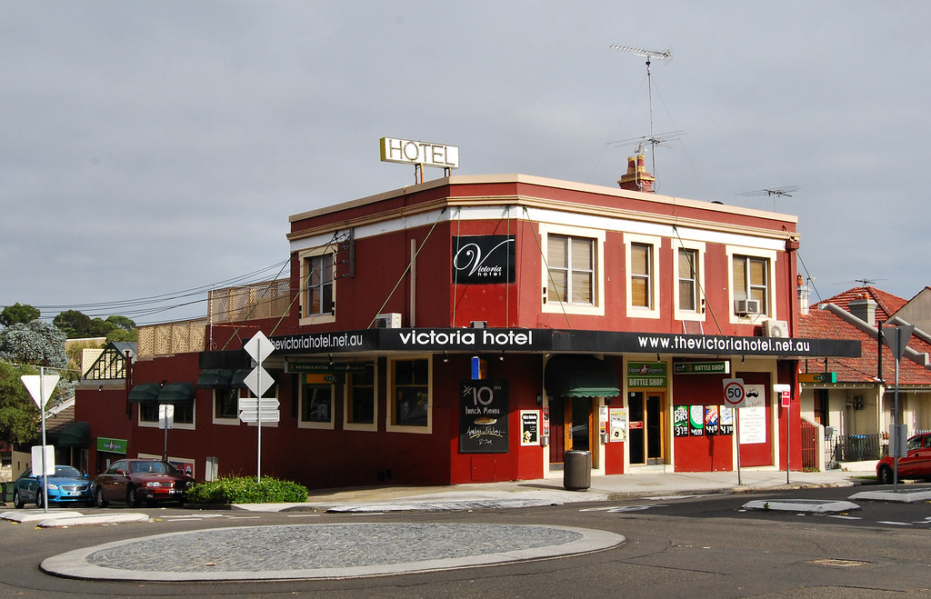 The Victoria Hotel, Annandale, Sydney, NSW.