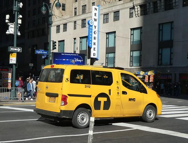 NYC Taxi - Nissan NV - in New York City NY
