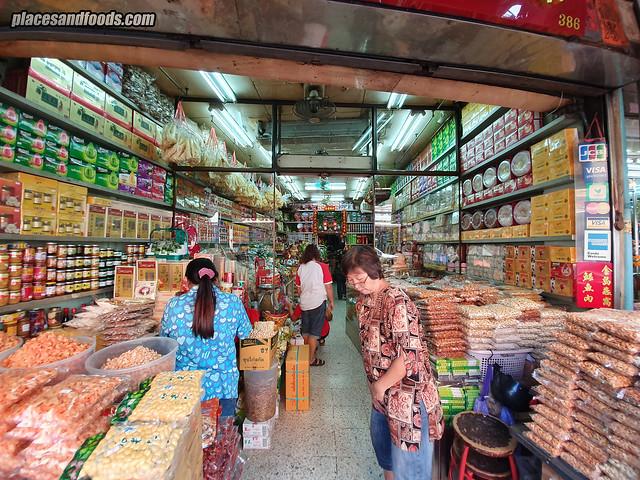 bangkok chinatown dried nuts