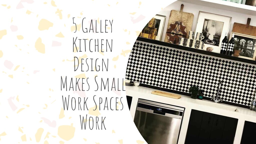 15 Galley Kitchen Design Makes Small Work Spaces Work