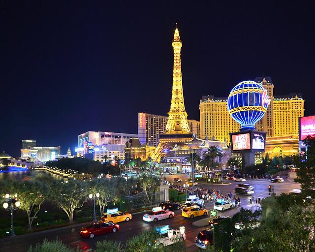Las Vegas, en la Costa Oeste de Estados Unidos