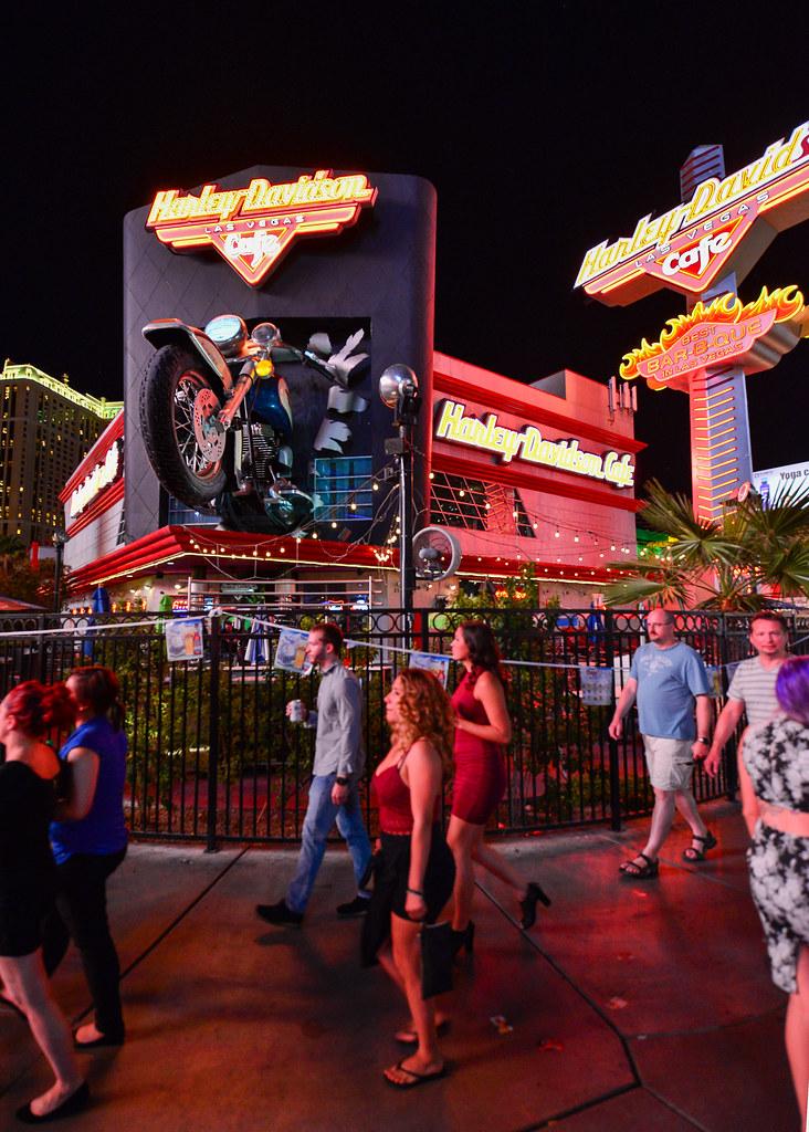 Harley Davidson Café en Las Vegas