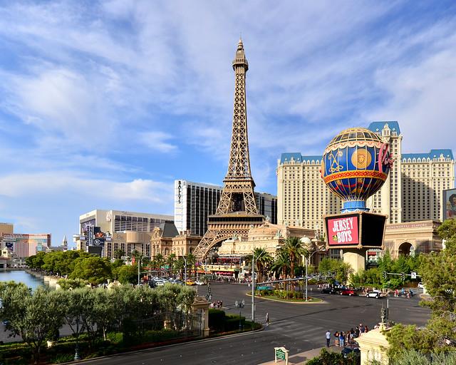 Strip de Las Vegas, uno de las cosas imprescindibles que visitar en Las Vegas