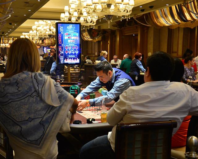 Casino del hotel Bellagio en Las Vegas