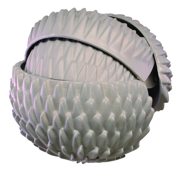 縮成一團的犰狳、刺蝟轉蛋化~T-ARTS 擬真動物「圓滾滾變形!捲縮圓球!」轉蛋(まんまる変形!まるまじろ)全四款