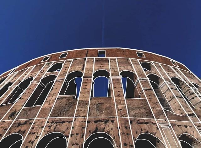 Colosseo, Roma.