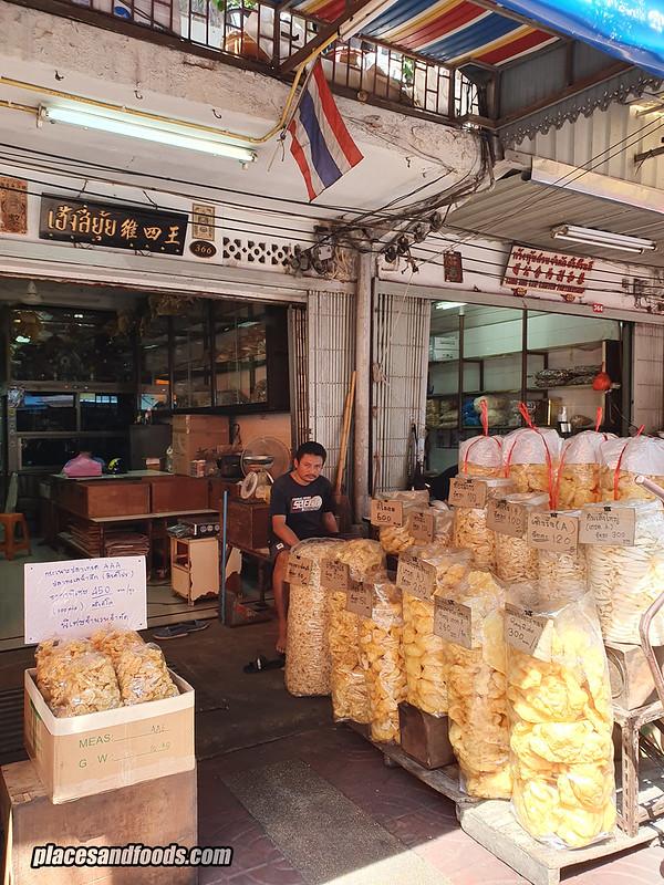 bangkok chinatown dried food