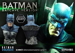 """還原漫畫經典造型!Prime 1 Studio《蝙蝠俠:緘默》蝙蝠侠 蝙蝠洞Ver. 1/3 比例半身胸像作品 (バットマン """"バットケイブver"""")"""