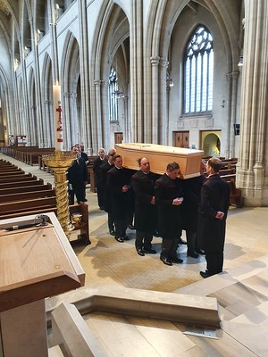 Burial of Archbishop Peter Smith RIP