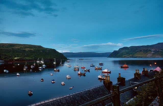 Portree. Isle Of Skye. Scotland