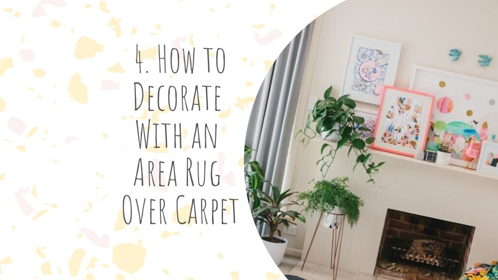 How to Decorate With an Area Rug Over Carpet