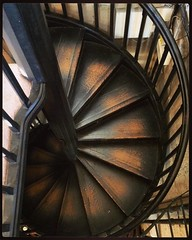 Ammonite staircase