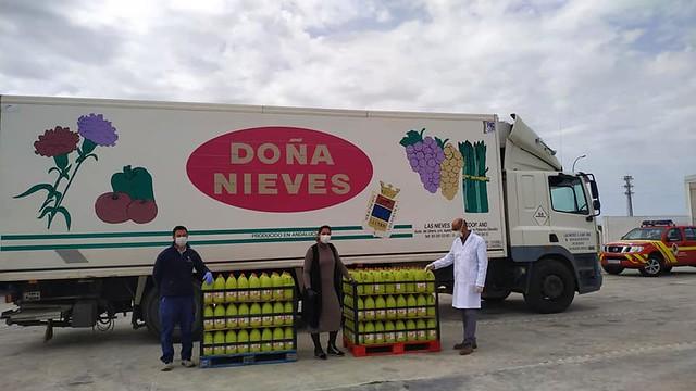 Donaciones en Los Palacios y Vfca