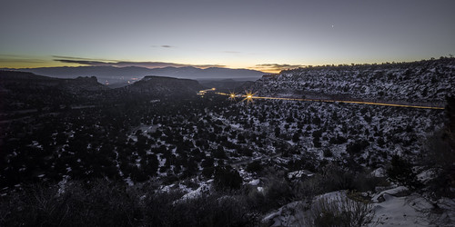 h5d50c hasselblad newmexico usa unitedstatesofamerica countryside fineart fineartphotography highway image landscape lighttrail mountains night nighttime photo photograph photography snow sunset winter f29 mabrycampbell february 2016 february72016 20160207campbellb0000783 24mm 510sec iso100 hcd24