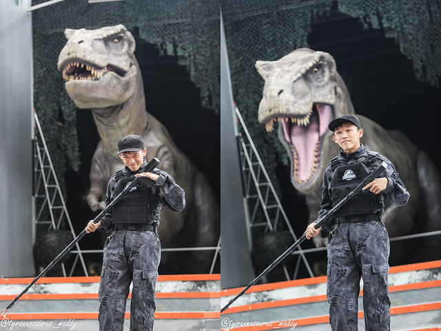 Peps Goh at Jurassic World USS 2018