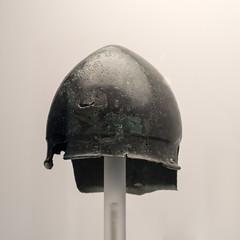 Bronze Italic-type helmet from Egnatia