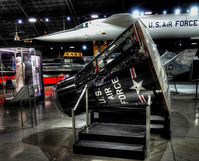 Gemini Capsule USAF Museum
