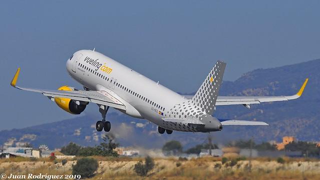 EC-NCS - Vueling - Airbus A320-271N - PMI/LEPA
